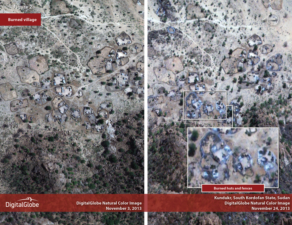 Op-ed: Satellites Correctly Predict Military Campaign Against Civilians in Sudan