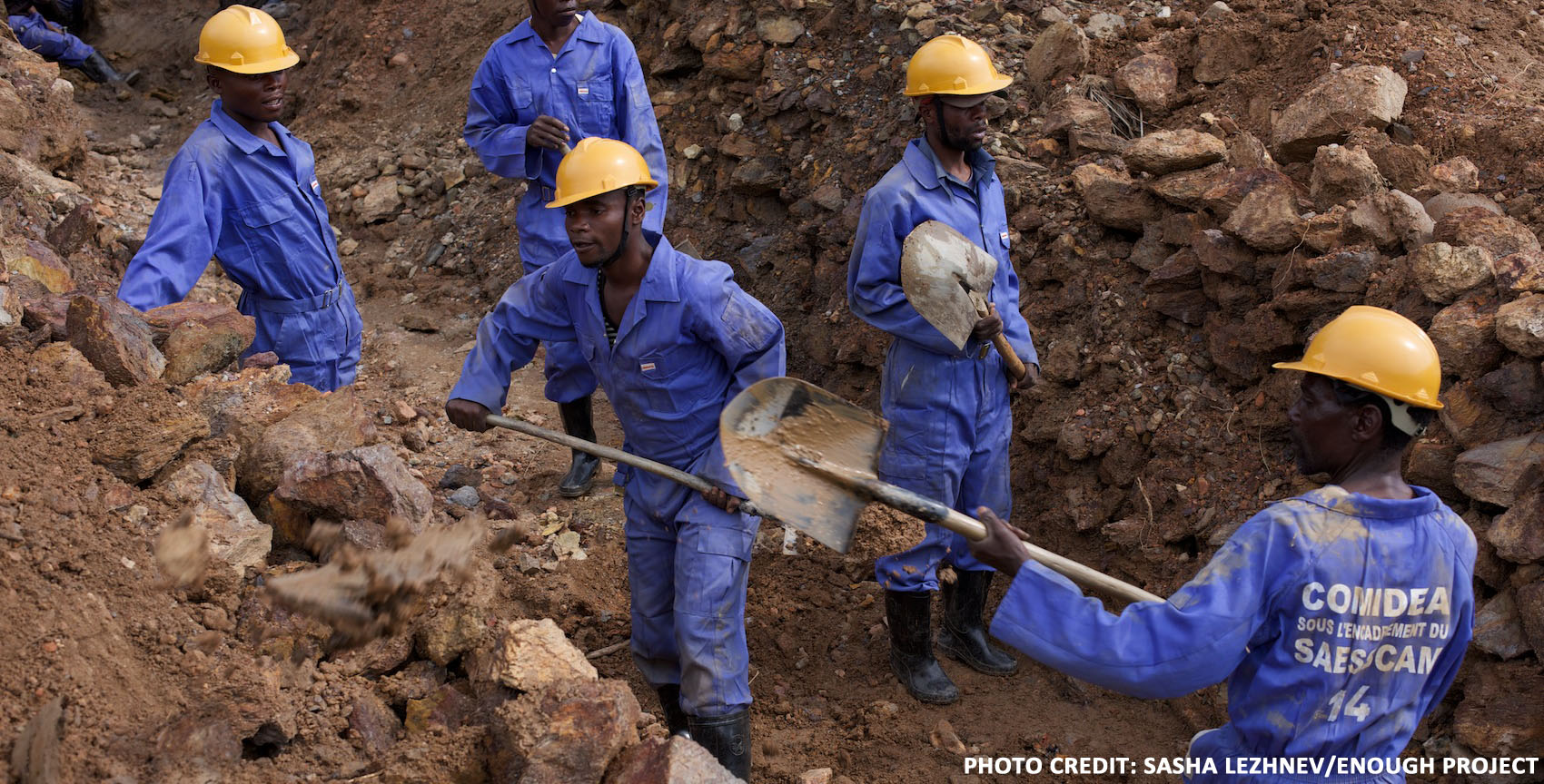 Miners in Eastern Congo