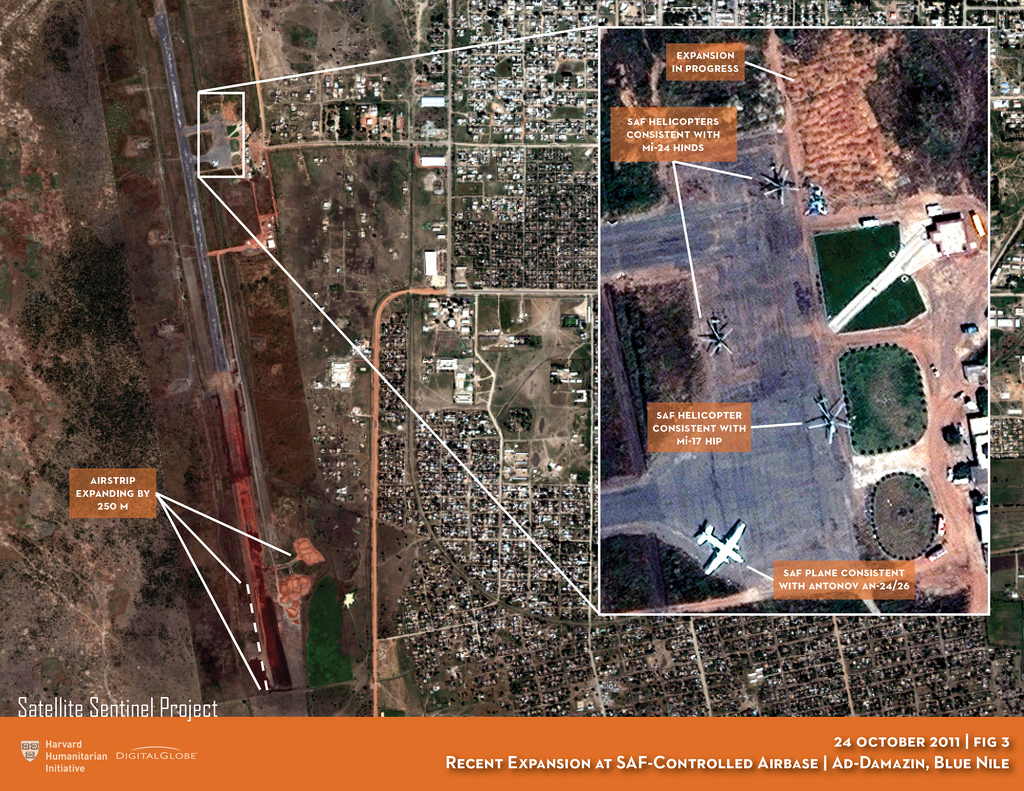 Escalating Crisis in Sudan: Satellite Imagery Shows Increased SAF Air Capacity, Refugee Camp Attacks