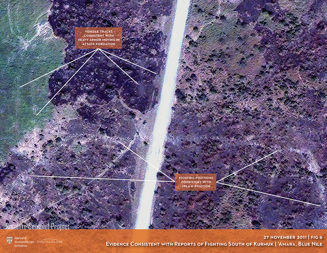 Satellites Show Evidence of Sudan Armed Forces Razing 'Amara Village in Blue Nile