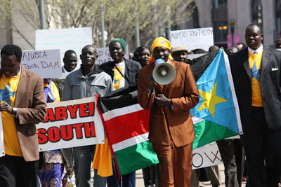 Sudan Activists Rally for Abyei