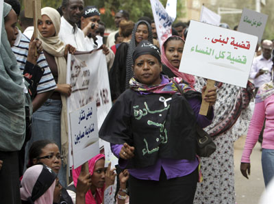 As Women Rally, Sudanese U.N. Worker Challenges Punishment by Flogging