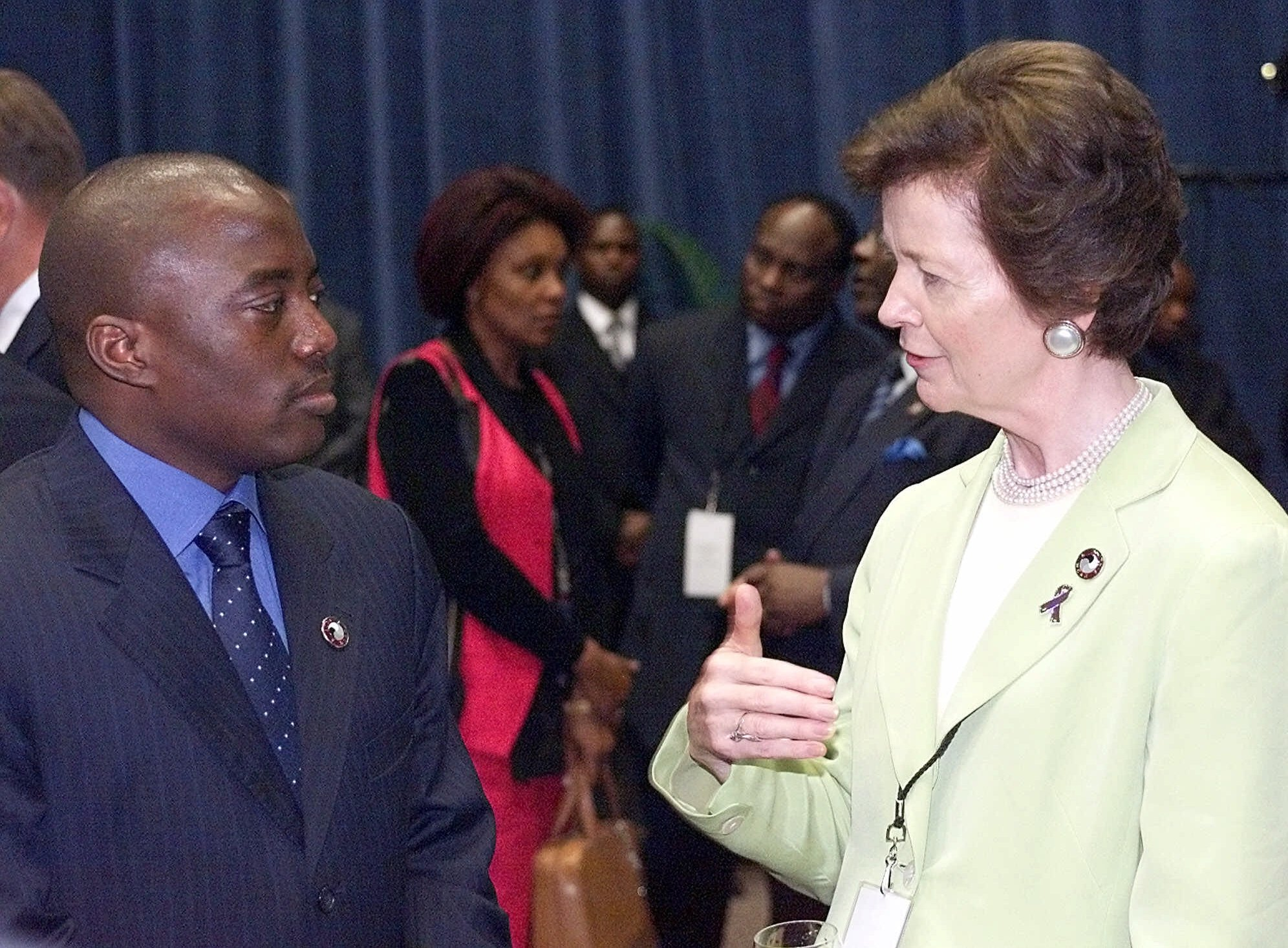 Mary Robinson's Next Steps to Help End Congo's Deadly War