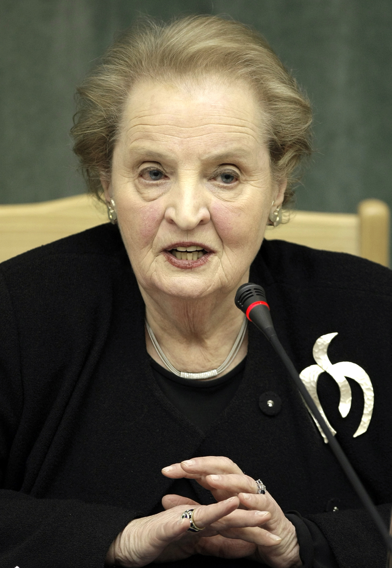 "Madeleine Albright: ""We Have a Stake in What's Happening in Other Countries"""