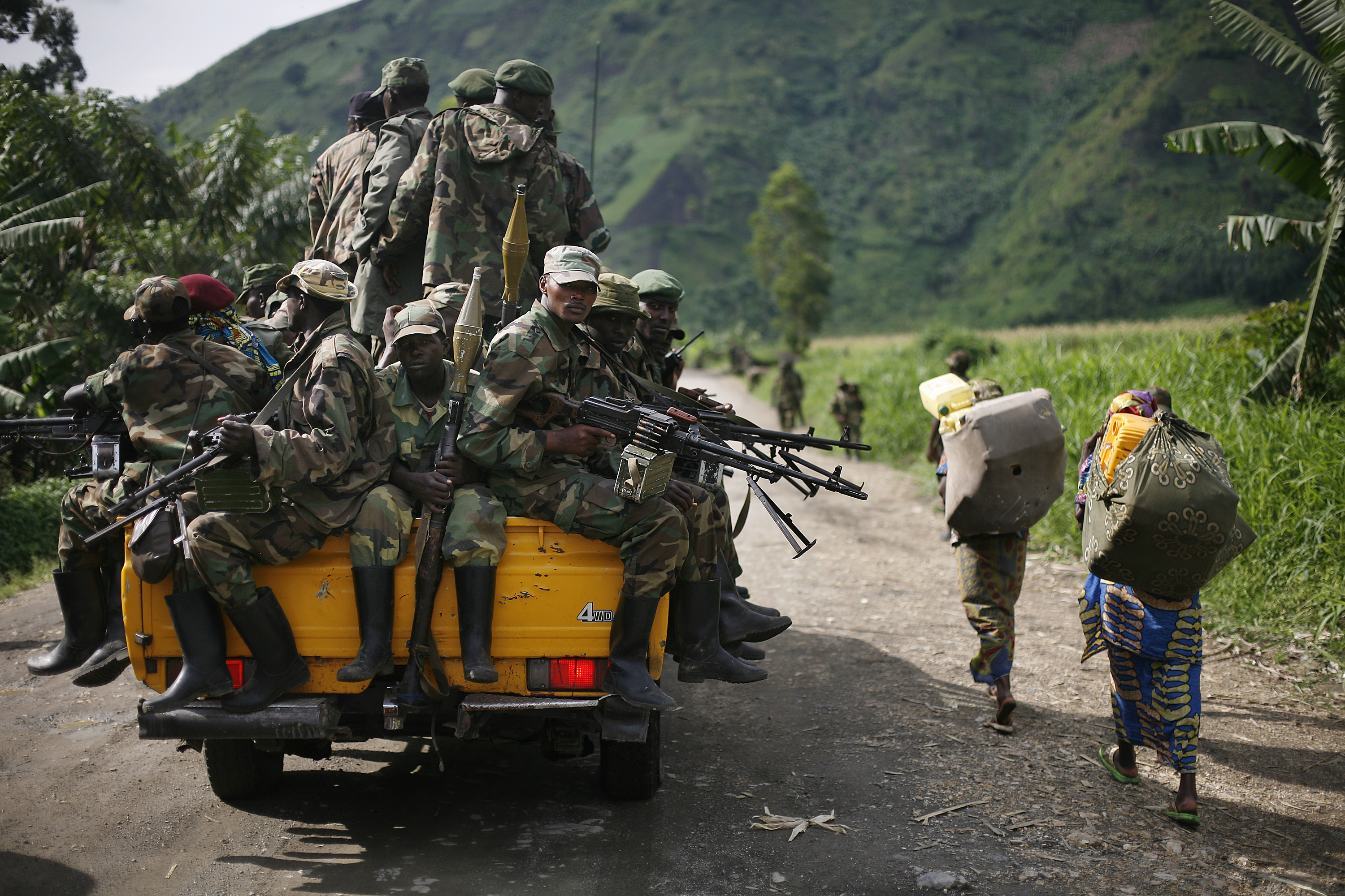 Policy Alert: Rebels Surrendering in Eastern Congo - Time for Feingold and Robinson to Act