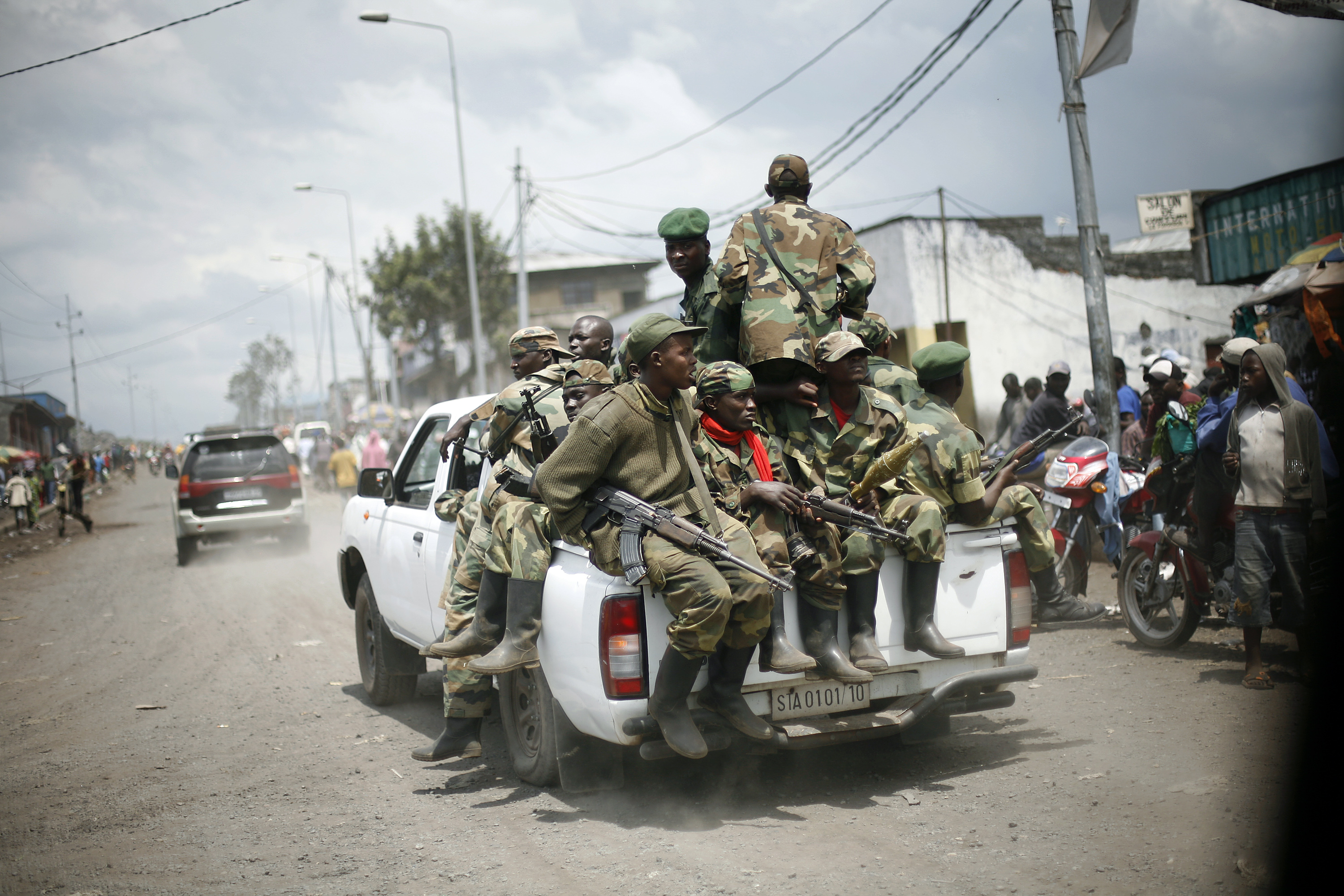 Policy Alert: Reintegrating Warlords into Congo's Army