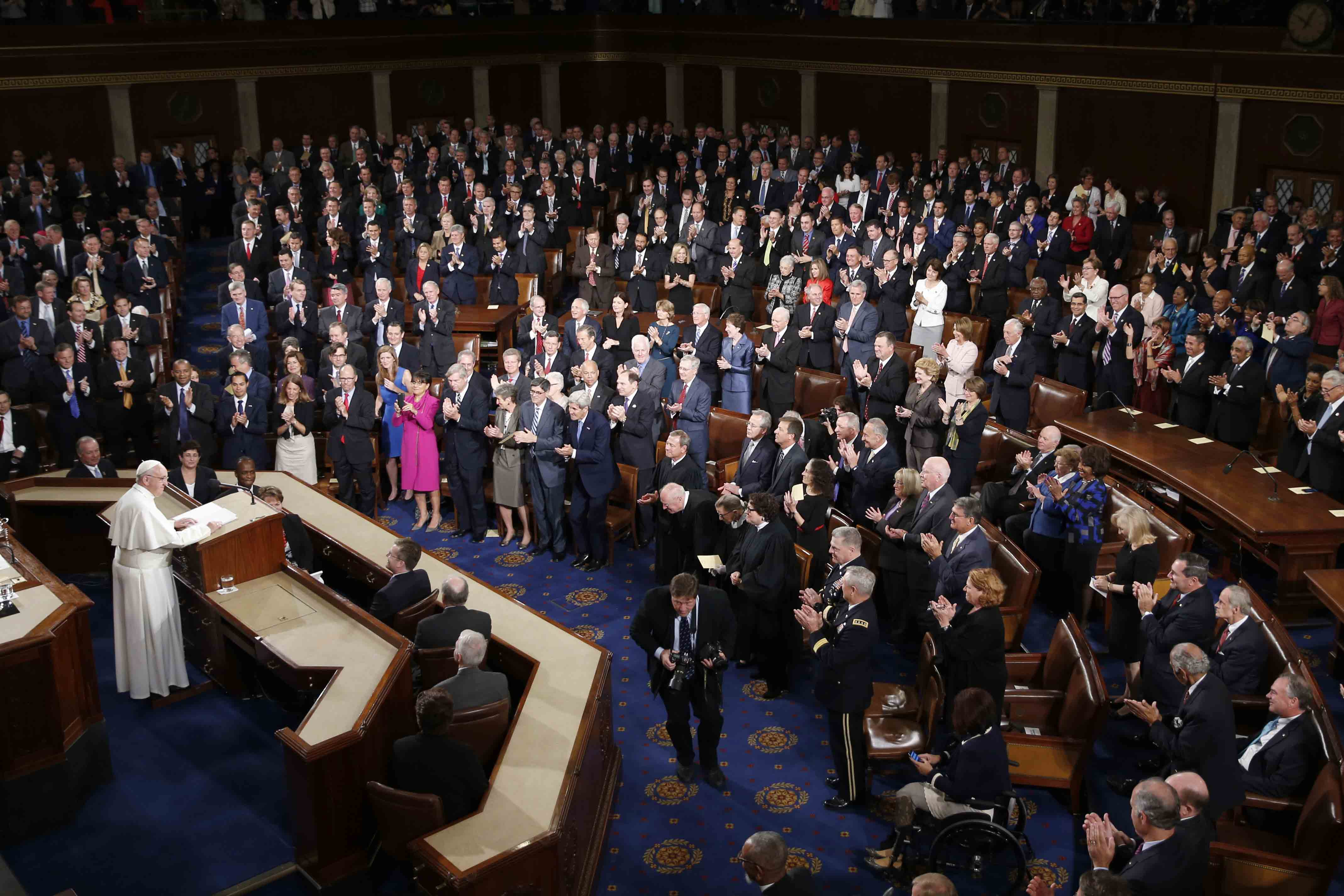 Papal Address to Congress: The Role of Money in Conflict