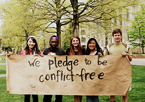Making American University Conflict-Free