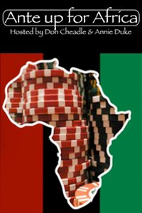 Don't Have to Be A Poker Player to Ante Up for Africa