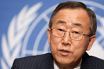 Mr. Ban Ki-Moon Goes to Washington
