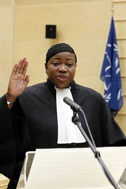 Historic Day for ICC as Ocampo Passes the Mantle of Chief Prosecutor to Bensouda