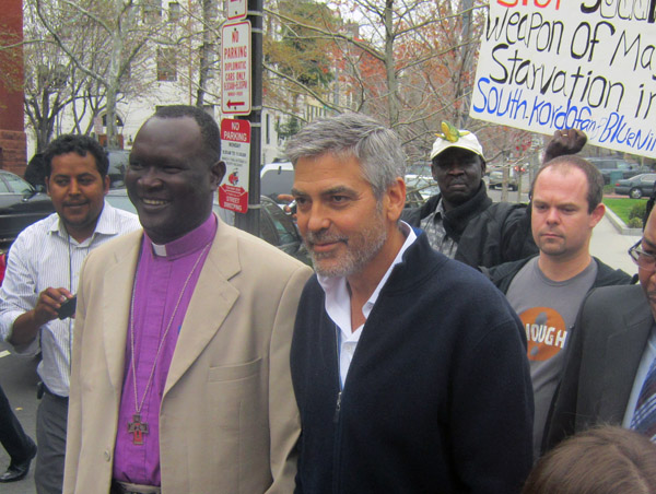 Why Clooney Makes a Difference: Five Questions for Bishop Andudu