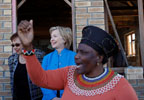 Meeting with Congolese Organizations, Clinton Offers Glimpse into New U.S. Partnership