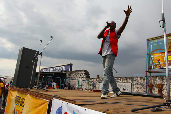 Witnessing a Concert-turned-Protest in Eastern Congo