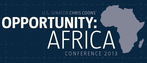 Attention Delaware: Senator Coons to Convene Opportunity Africa Conference
