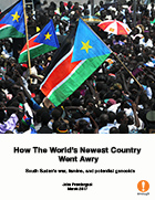 How The World's Newest Country Went Awry: South Sudan's war, famine, and potential genocide