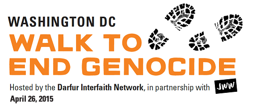 Join the Washington, D.C. Walk To End Genocide