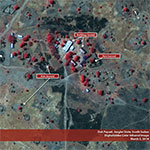 Satellite Imagery shows Lost Boys' Clinic and Orphanage Touched by Violence in Duk County