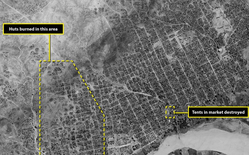 The Forgotten Genocidal War in Darfur Revealed in New Satellite Photos