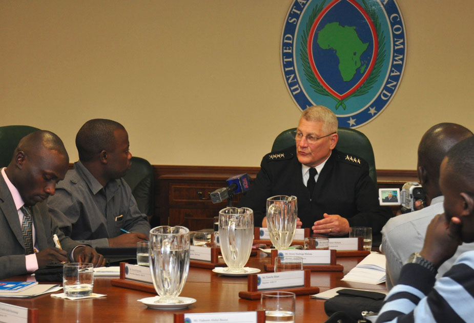 "AFRICOM Commander on LRA: ""A lot of work yet to do"""