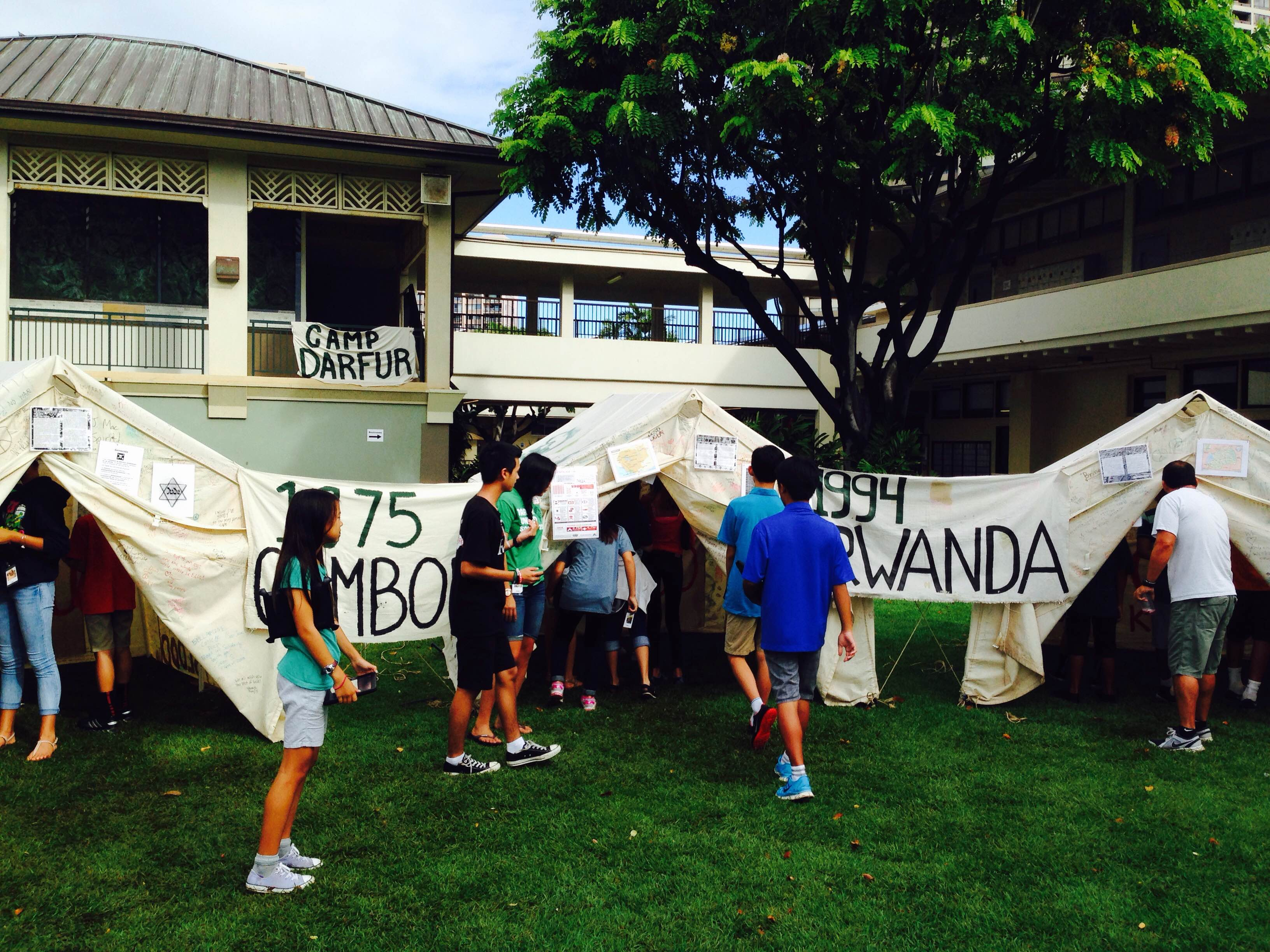 Movie Trailers That Spark Activism from 'Iolani School's 7th Graders