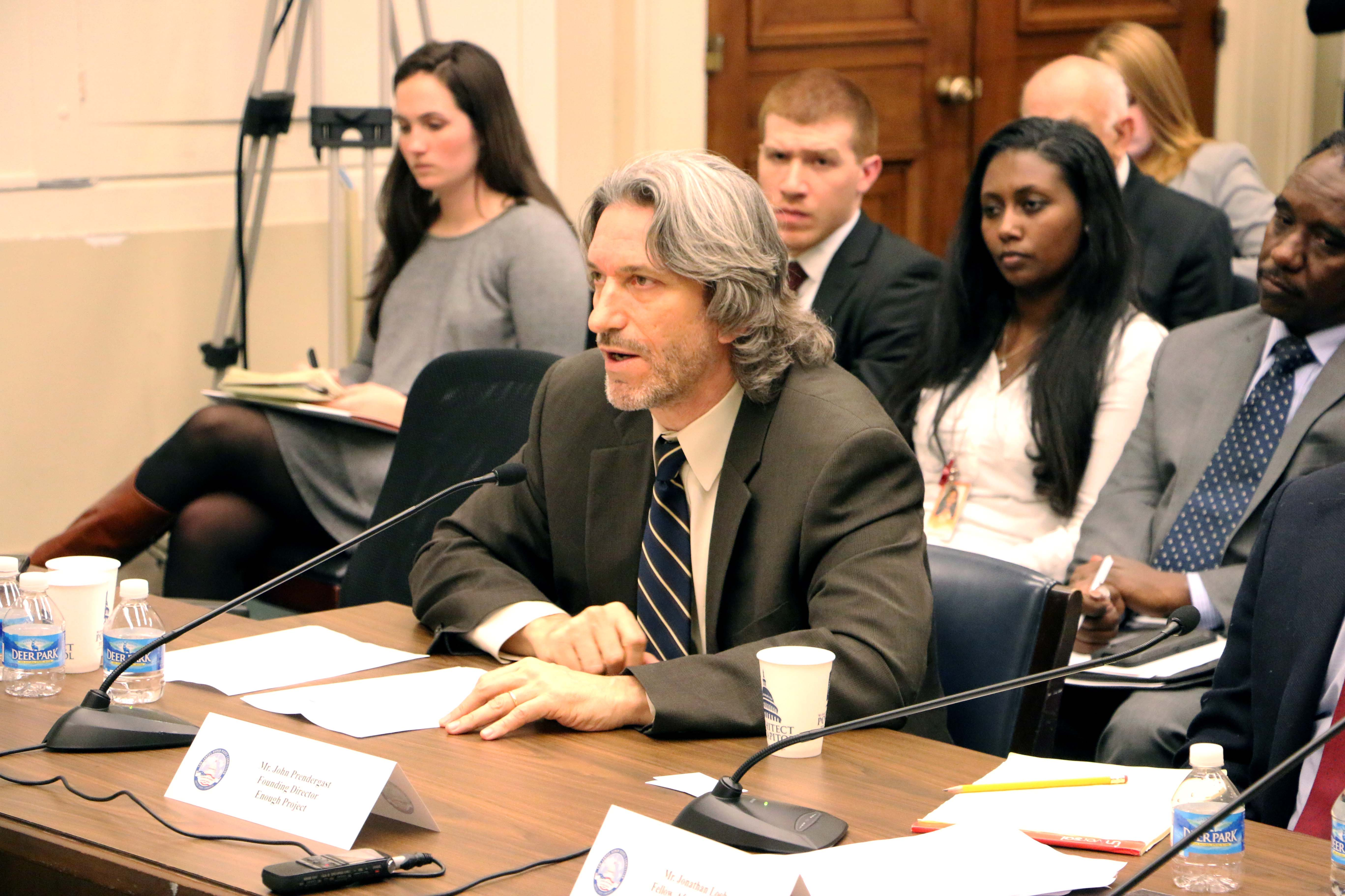 John Prendergast Testifies before the Tom Lantos Human Rights Commission