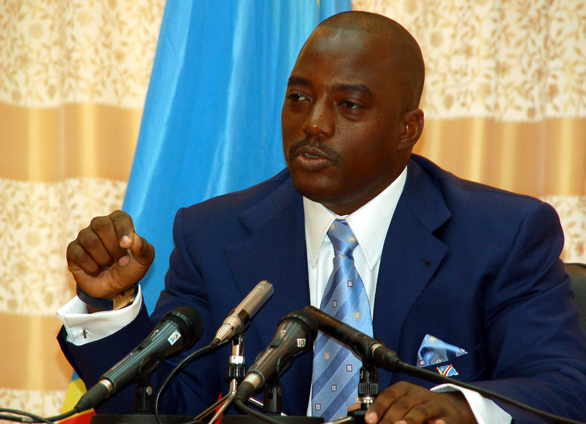 Amid Impending Standoff President Kabila Arrives in Goma