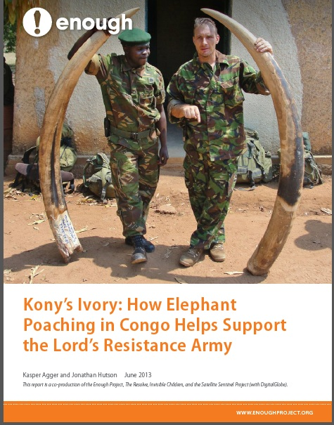 Kony's Ivory: How Elephant Poaching in Congo Helps Support the Lord's Resistance Army