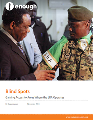 Report: Blind Spots - Gaining Access to Areas Where the LRA Operates