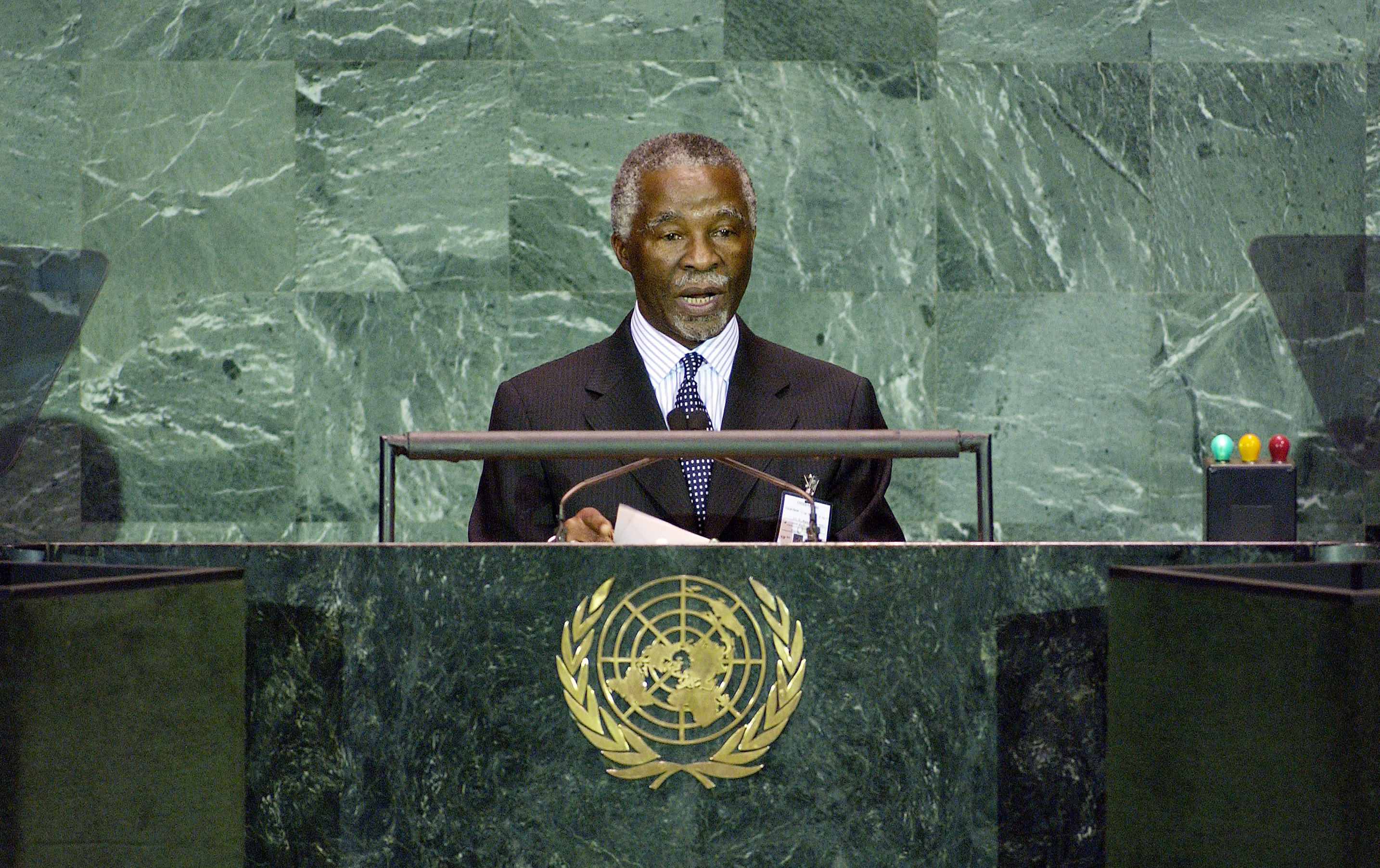President Mbeki's Moment: A Stand for Peace in the Two Sudans