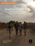 Neighborhood Watch: Mobilizing Regional Action for Peace in South Sudan