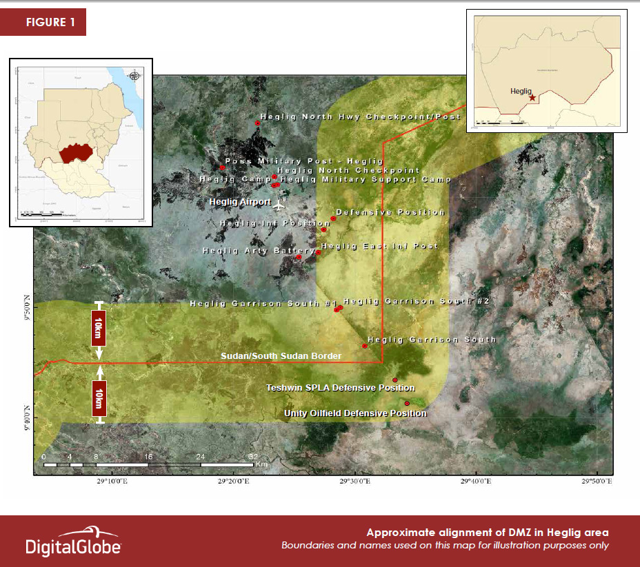 New Satellite Imagery Confirms Broken Agreements Along the Sudan/South Sudan Border