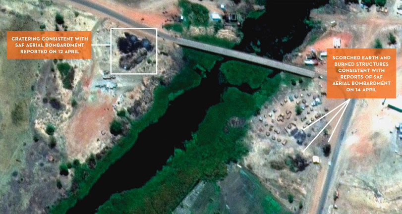Reports: Satellites Show Buildup of Sudan Military Strike Aircraft in Range of South Sudan, Damage to Oil Infrastructure