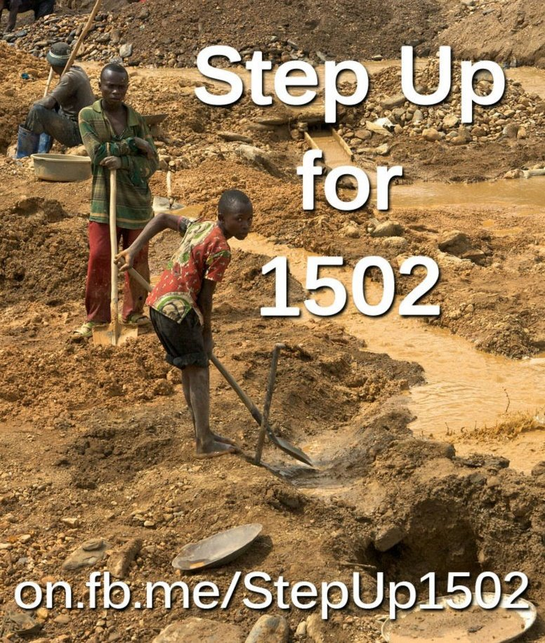 Step Up for 1502 and Congo