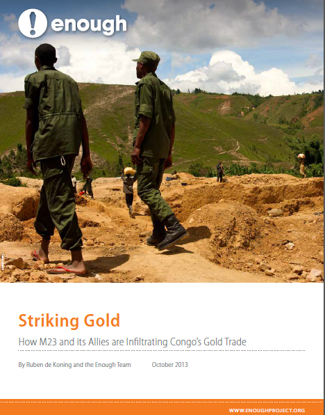 Striking Gold: How M23 and its Allies are Infiltrating Congo's Gold Trade