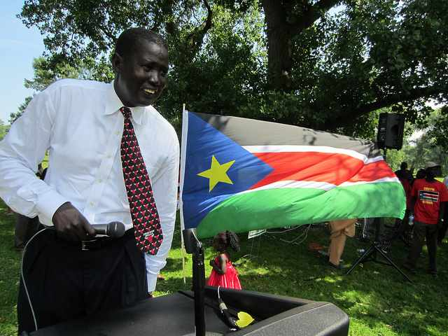 Chicagoans Walk with Darfur and Celebrate South Sudan Independence