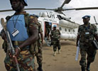 Peacekeeper Wounded in Darfur Attack