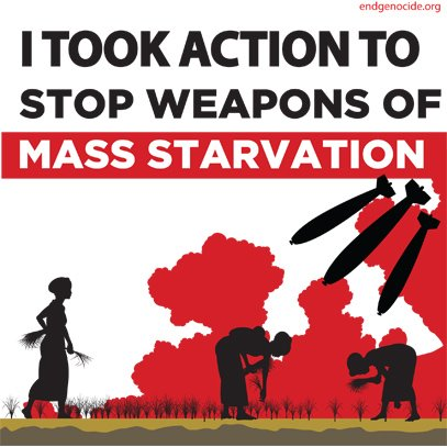 Share This: Sudan—Stop Weapons of Mass Starvation