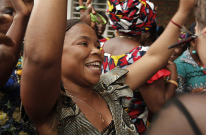 V-Day's Eve Ensler Spotlights Congo with New Monologue as City of Joy Graduates First Class