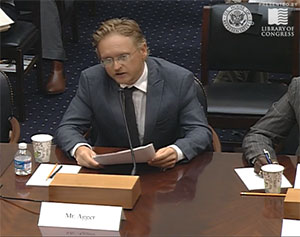 Enough Project's Kasper Agger Testifies at House Hearing on CAR