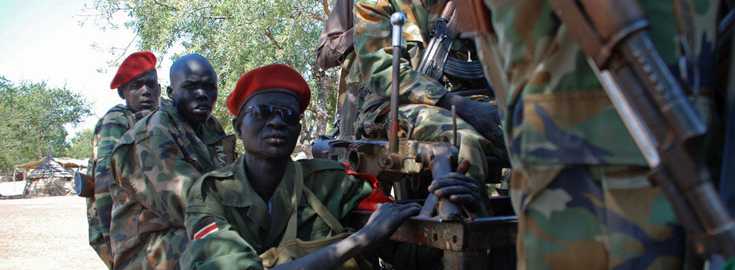 SPLA Soldiers and Military Police