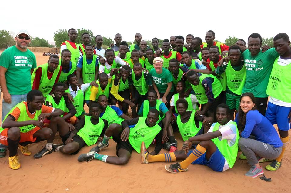 Support Darfur United, a Refugee Soccer Team