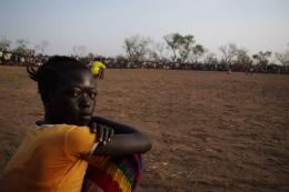Sudanese refugee in Yida Camp, South Sudan