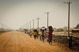 Abyei residents flee south in May