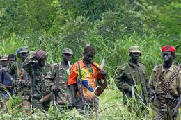 LRA soldiers