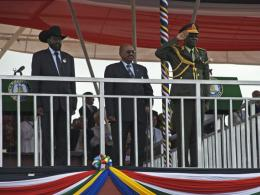 Presidents Bashir and Kiir - Enough - Laura Heaton