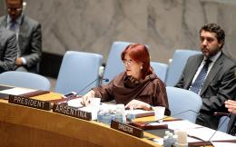 Permanent Representative of Argentina to the UN chairs Sudans UNSC meeting