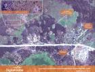Satellite imagery of aerial bombardment in Amara, Blue Nile, Sudan.