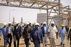South Sudan officials visit oil fields in Paloich, South Sudan (2012)