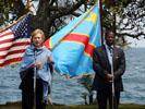 Clinton and DRC Foreign Minister